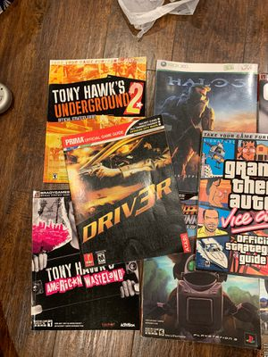 8 Game Guides - 1 brand new for Sale in Affton, MO
