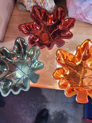 5 pc leaf bowls for Sale in Winchester, VA
