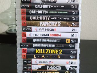 Selection of 16 PS3 Games (Like New Condition) for Sale in Tucson,  AZ