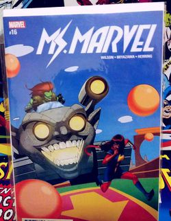 MS. MARVEL #16 NM MARVEL COMICS for Sale in Yakima,  WA