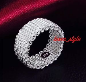 925 STERLING SILVER MESH RING for Sale in Commack, NY