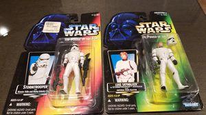 Stormtrooper and Luke Skywalker for Sale in Elma, WA