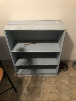 Cute blue chippy shelf for Sale in York, PA