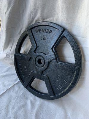 50 Pound WEIDER weight for Sale in Phoenix, AZ