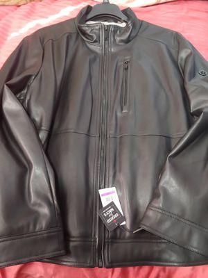 Calvin Klein leather jacket for Sale in Anaheim, CA