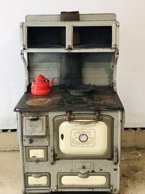 Antique home comfort woodstove for Sale in Park Rapids, MN