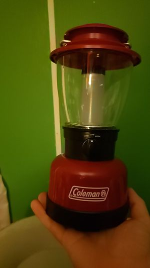 Coleman battery powered lantern for Sale in Hensley, AR