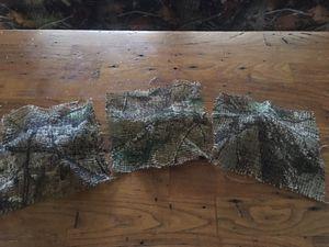 37 camo burlap squares for Sale in Gray, TN