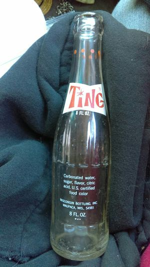 Ting soda glass bottle for Sale in Portland, OR