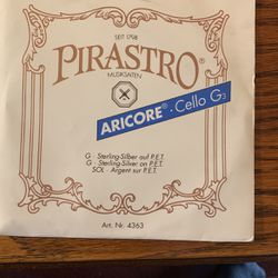 Pirastro Aricore 4/4 Cello G String New for Sale in Highland,  IL