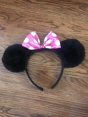 Minnie Mouse Ears $5 for Sale in Lake Worth, FL