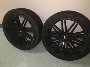 22 inch sport XO LUXURY wheels with tires for Sale in Oxon Hill, MD