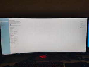 "ASUS ROG 34"" curved monitor for Sale in Denver, CO"