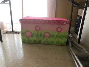 Brand New Kids Toy Box Never Used for Sale in Capitol Heights, MD