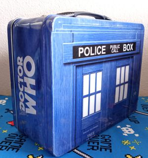 Doctor Who Police Box Tardis Tin Tote Lunch Box 1996 Limited Edition Collectible for Sale in Albuquerque, NM