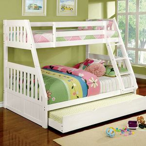 Nice twin /full bunk bed $ 599 💵🔥 for Sale in Fresno, CA