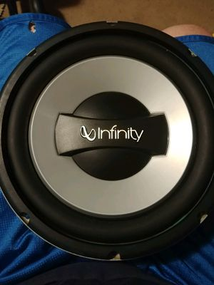 Infinity 10 inch subwoofer for Sale in Fort Wayne, IN