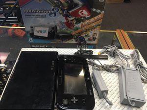 Nintendo Wii U Mario kart 8 bundle with steering wheel for Sale in Chesapeake, VA
