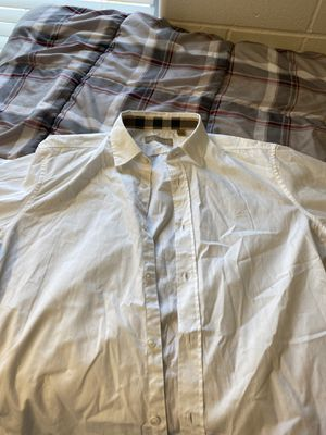 Burberry Dress shirt (white) for Sale in Tallahassee, FL
