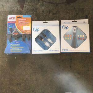 International Notebook Plug Adapter Kit. Minitripod with colorful feet for your camcorder. HDMI Cables for Sale in Laguna Niguel, CA