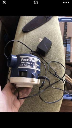 Rechargeable Fast fill electric air pump charger inflatable tubes mattress for Sale in Portland, OR