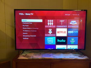 "TCL - 40"" Class - LED - 3-Series - 1080p - Smart - HDTV Roku TV for Sale in Menlo Park, CA"