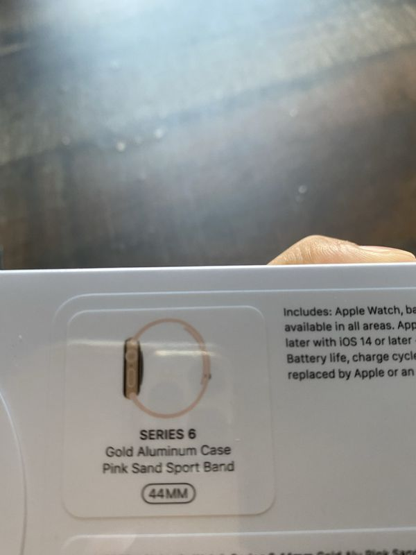 New Apple Watch Series 6 44mm Gold Gps