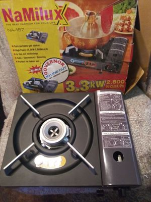 NaMilux (portable gas cooker) for Sale in Garland, TX