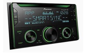 New Pioneer FH-S720BS Double DIN CD Receiver with Enhanced Audio Functions, Improved Pioneer ARC App Compatibility for Sale in Gardena, CA