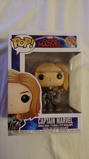 Captain Marvel Funko Pop for Sale in Perris, CA