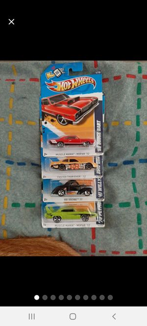 Hot Wheels 4Car Slanted~Tampo ErRoRs ●□● for Sale in Williamsport, PA
