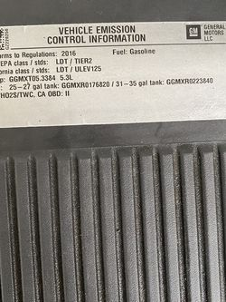Air Filter Assembly 5.3L for Sale in Bellevue,  WA