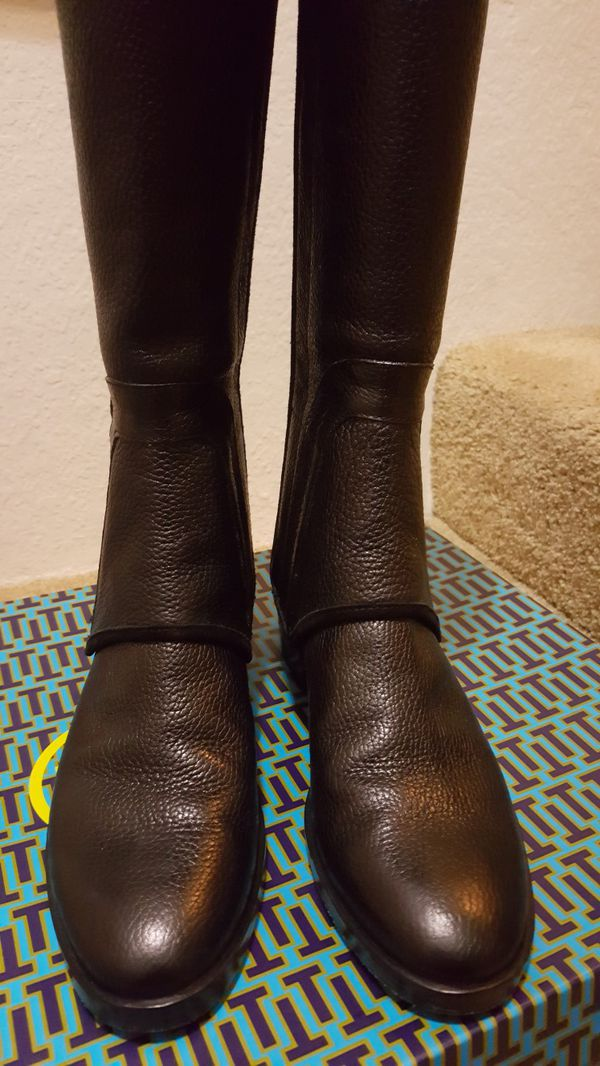 2e4b852b0c5 Tory Burch Milburn Riding Boot Size 9.5 for Sale in Pasadena