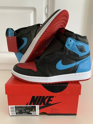 Nike Air Jordan 1 UNC to Chi (Size 8.5 W, 7M) for Sale in Orange, CA