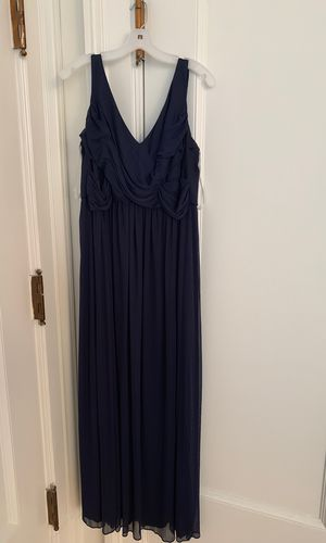 David's Bridal Navy Dress for Sale in Lynchburg, VA