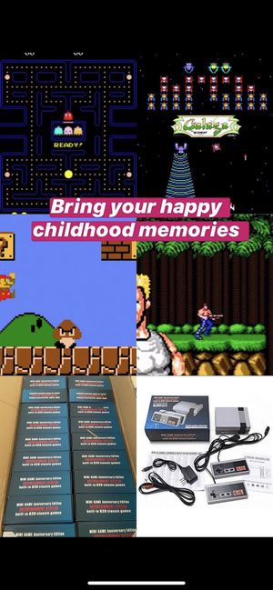 Retro game Mini-Nintendo Old games Retro Console Mario Pac-Man for Sale in Hollywood, FL