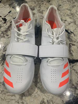 Adidas Adizero Cleats White/Tangerine Sz. 14.5 for Sale in Washington, DC