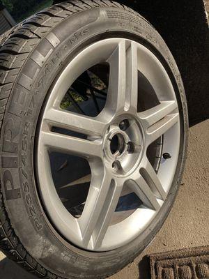 Pirelli Tire with Audi Rim for Sale in Buena Park, CA