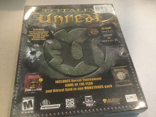 CD ROM Computer Game Unreal