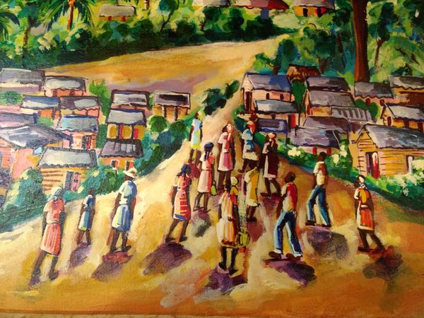Orginal Haitian Painting by Wilner Pierre