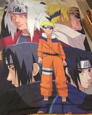 Naruto duvet cover Queen for Sale in Milton, WA