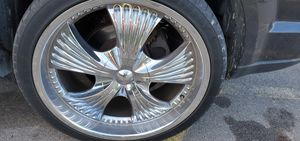 22 in rims 5x127 or 5x5 for Sale in Rochester, NY