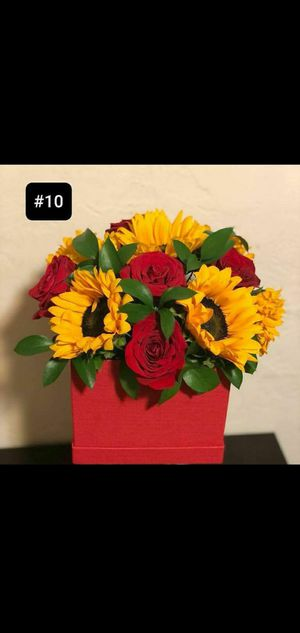 Boxes arrangements flowers for any occasion for Sale in Norwalk, CA