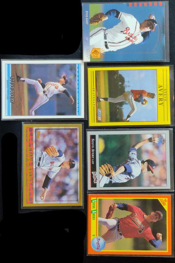 Steve Avery Baseball Card Collection..