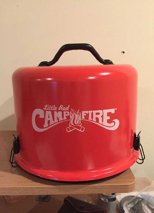 Camco Little Red Campfire Portable Campfire Pit Hester
