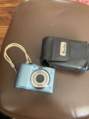 Canon PowerShot A1100 IS Digital Camera 12.1MP 4GB SD Card for Sale in Ontario, CA
