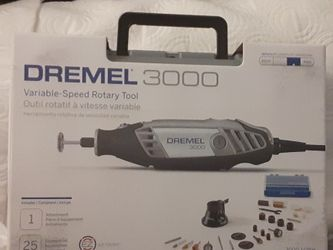 Dremel 3000 Series Tool Kit w/ Accessories & Case for Sale in Portland,  OR
