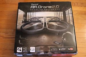 Parrot AR Drone 2.0 Sand EE Elite Edition w HD Camera Flying w Extras for Sale in Alexandria, VA