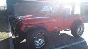 1995 jeep wrangler manual 4x4 engine 2.5 .4c emisión for Sale in Denver, CO