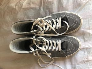 grey high top vans for Sale in Cantonment, FL